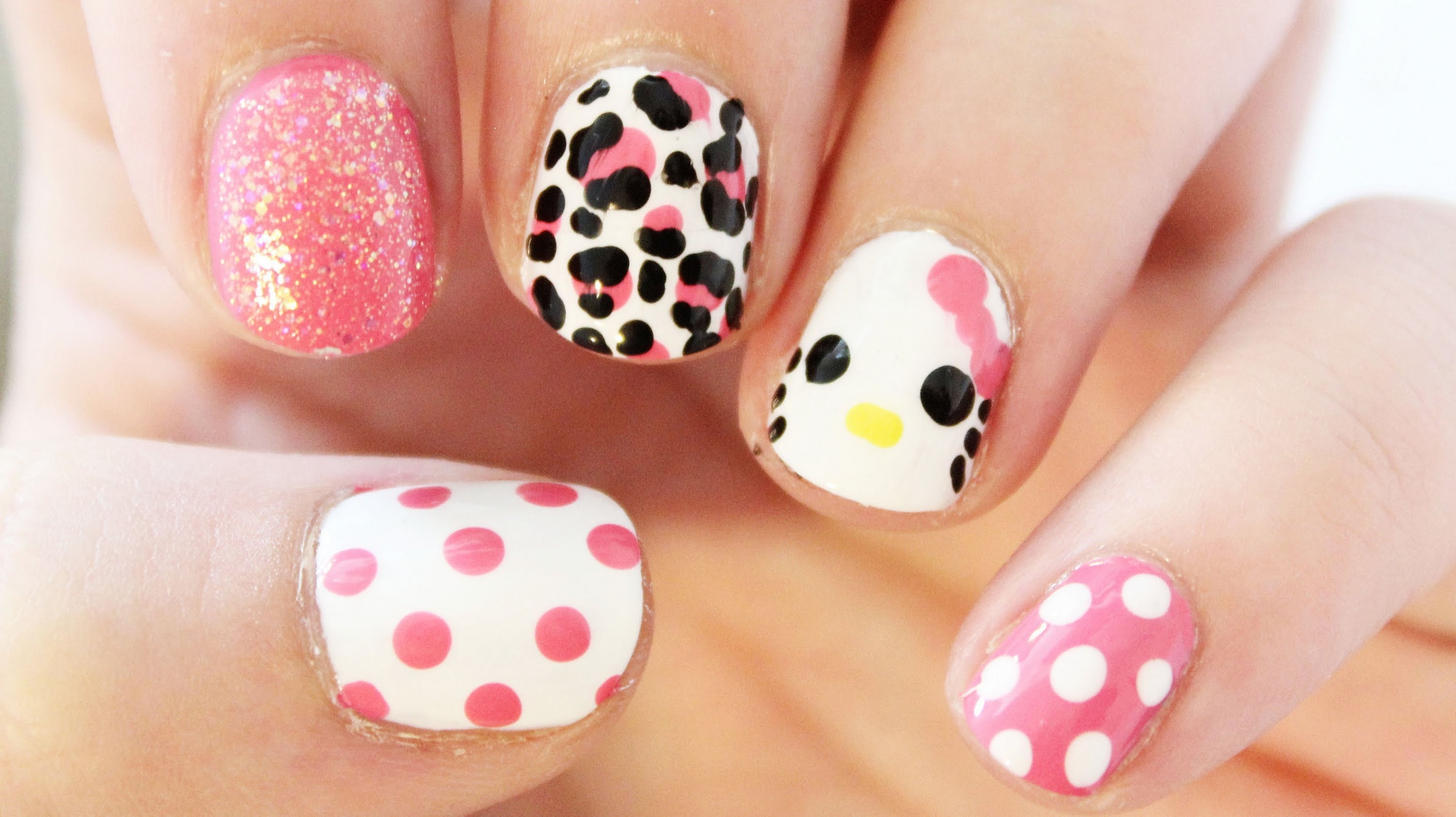 These Hello Kitty Nails Will Leave You Feeling Adorable