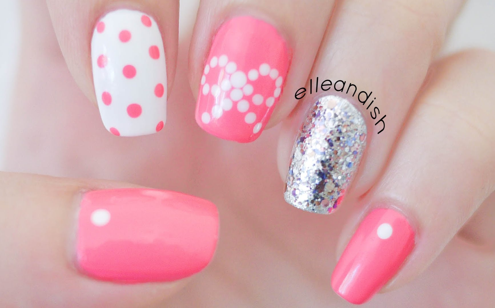 Try Out These Adorable Easy Bow Tie Nails