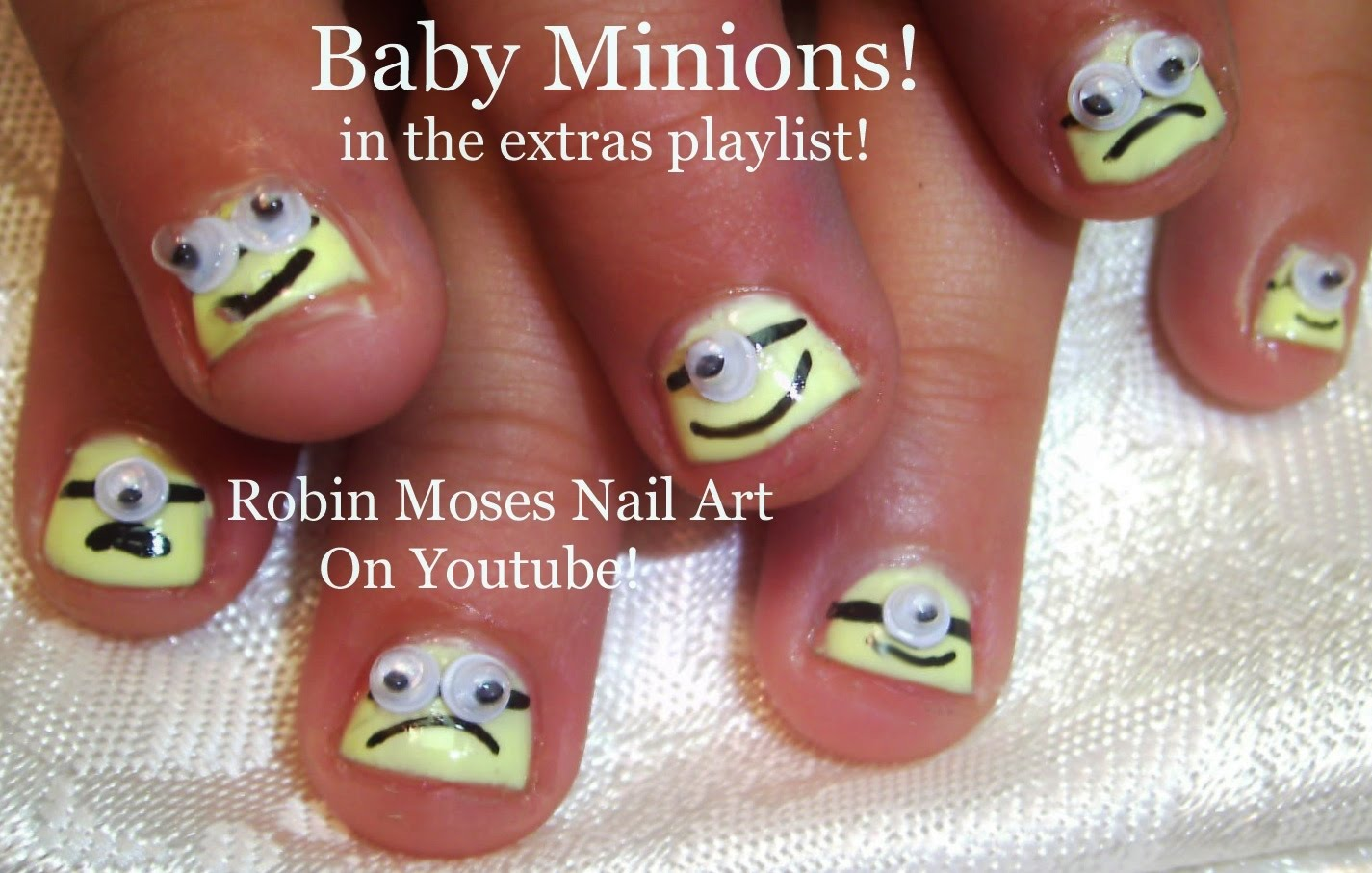 Minion Nail Design | Graham Reid