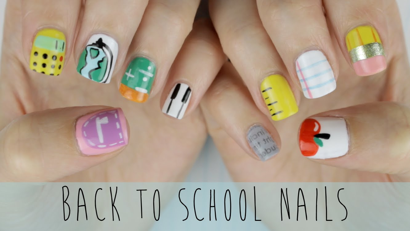 These School Themed Nails Are Super Cute!