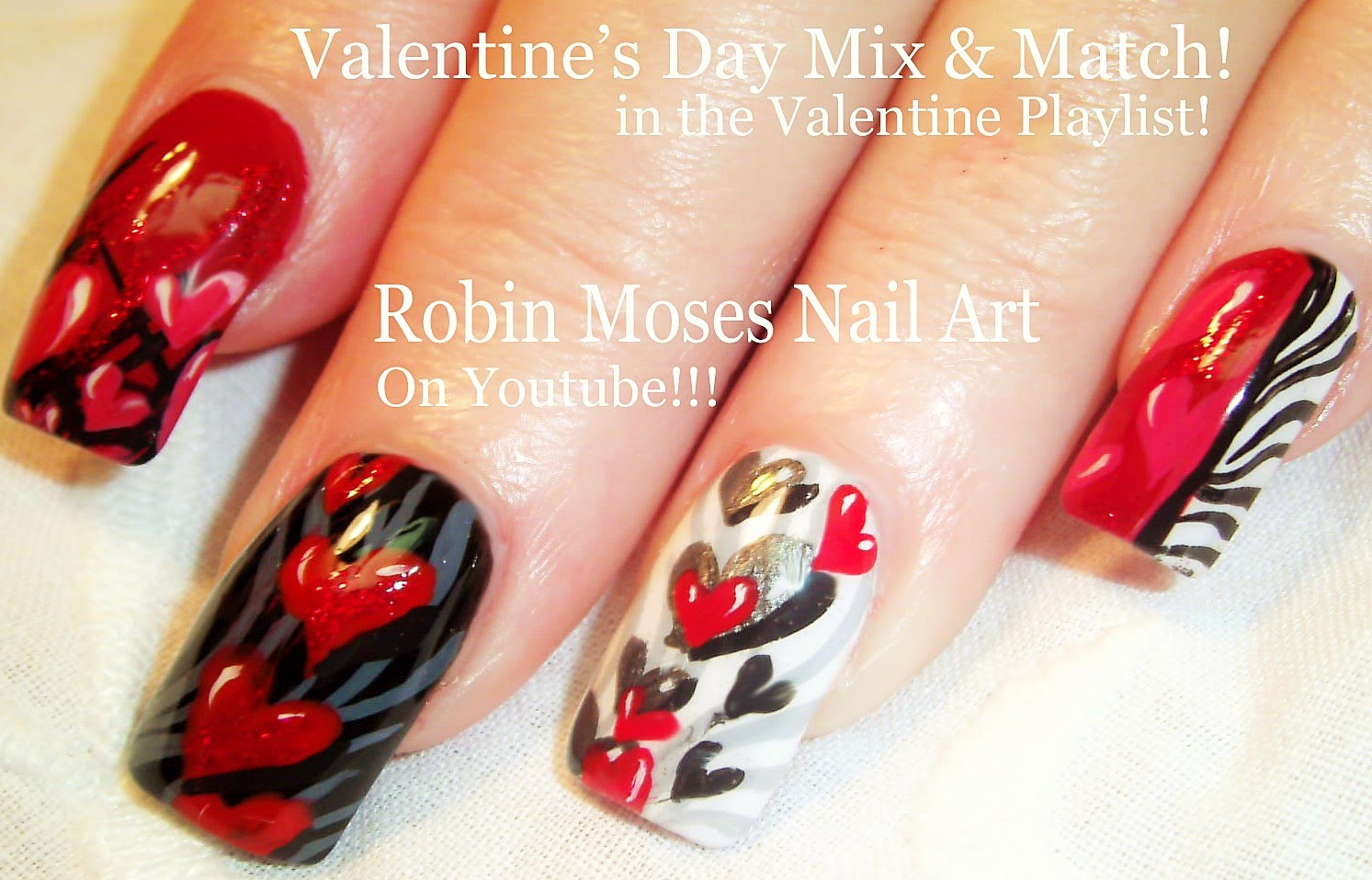 Create This Romantic Nail Design Ideal For Anniversaries And Date
