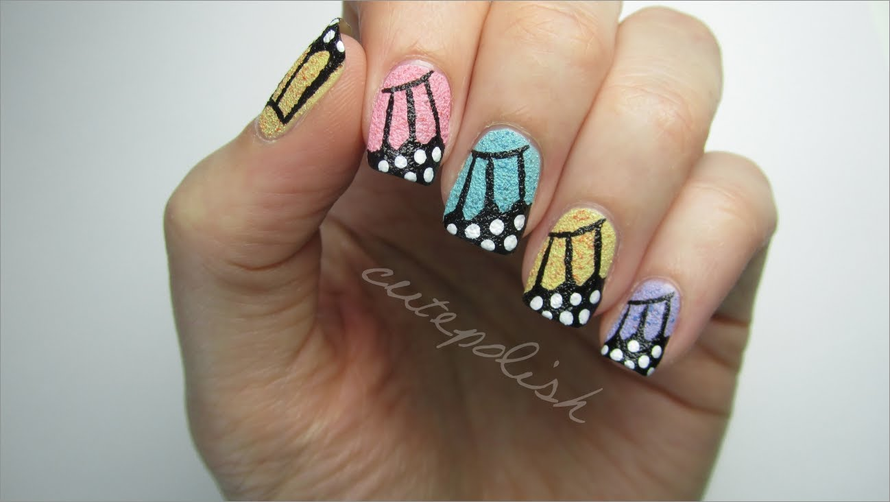 Art archives page 81 of 107 manicure it try these amazing and unique textured butterfly wing nails prinsesfo Image collections