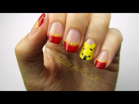Try Out This Adorable Winnie The Pooh Nail Art