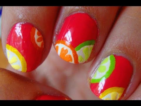 Manicure it page 76 of 179 nail art photos for the perfect look spring ready with this bright citrus nail art prinsesfo Gallery