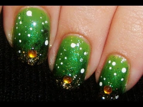 Try Out This Awesome Forest Pixie Nail Art