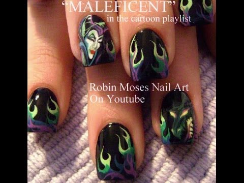 Manicure it page 77 of 179 nail art photos for the perfect learn how to create this magnificent maleficent nail art prinsesfo Image collections