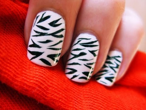 This Easy Zebra Nail Art Is Ideal If You Are Looking For A Quick And