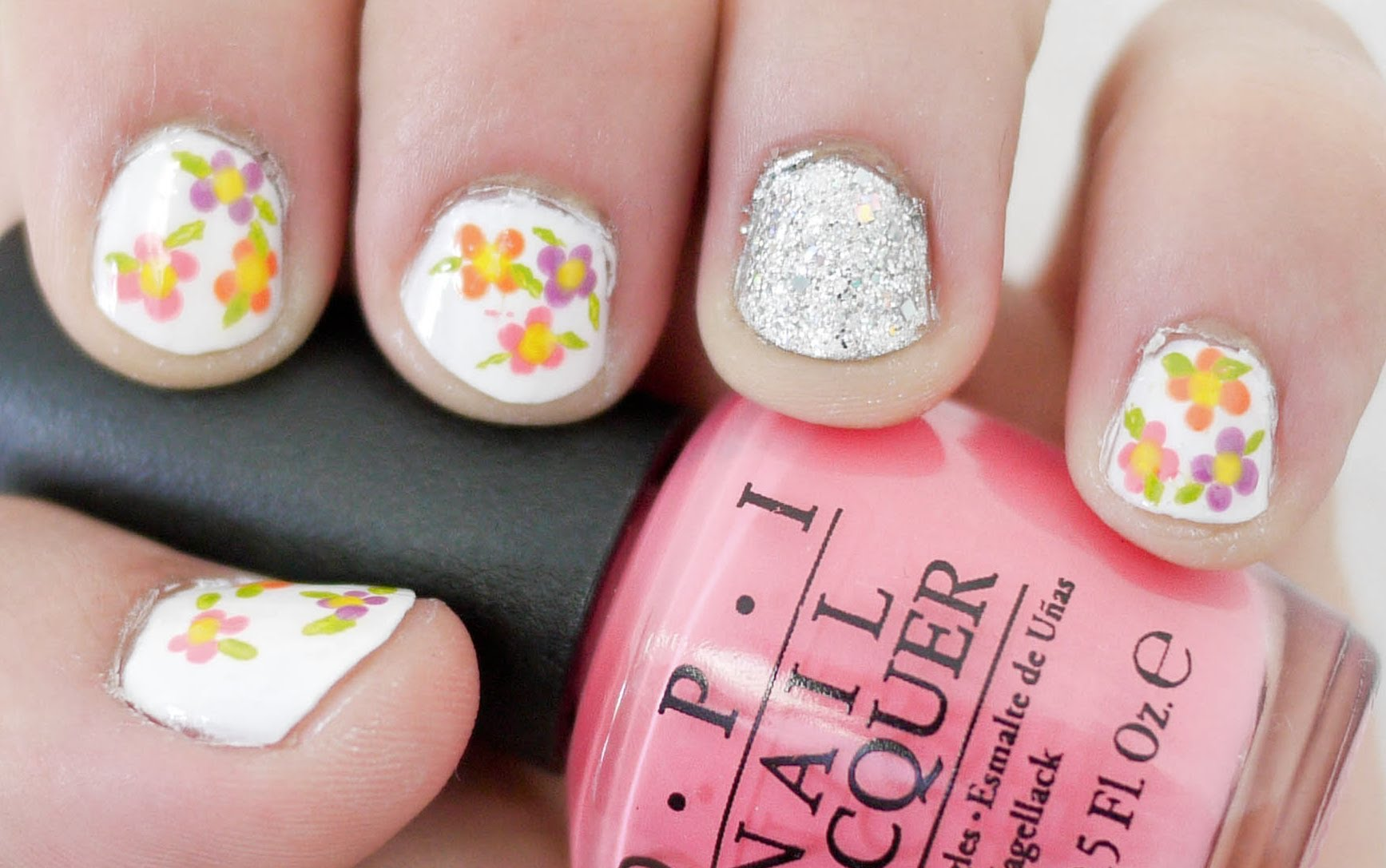 How To Make Easy Rose Nail Art Best Ideas