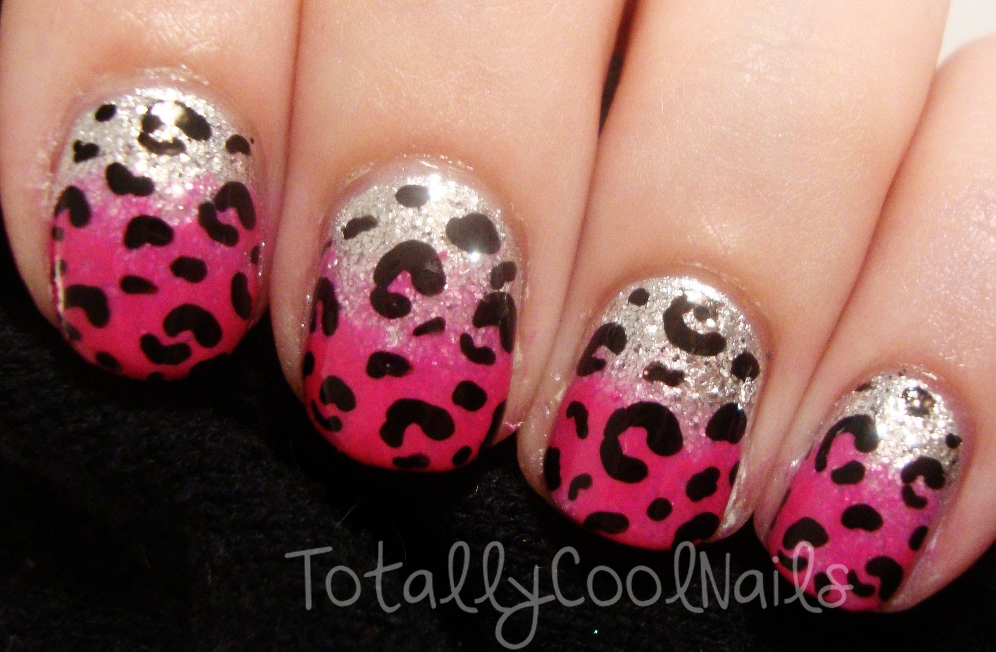 Art archives page 27 of 107 manicure it get ready for a wild night out with this fun hot pink and silver leopard print nail art design prinsesfo Choice Image