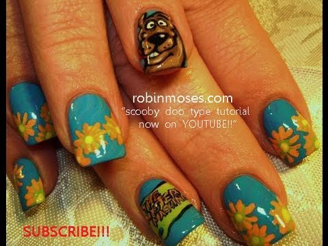 Show Off Your Nail Art Skills With This Awesome Scooby Doo Design