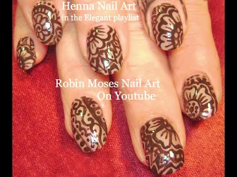 Try Out This Beautiful And Easy Henna Inspired Nail Art