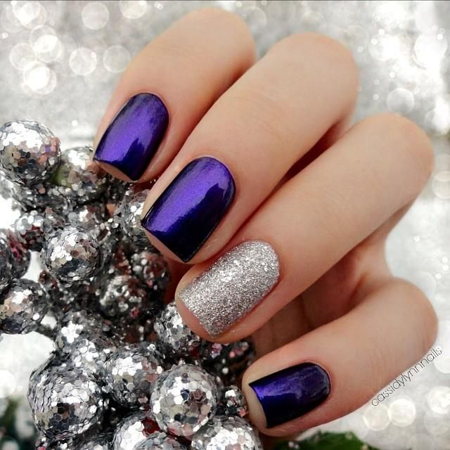Top 10 Dramatic Nails Art Love The Color