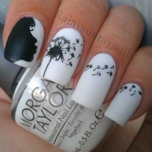 10 Easy Black White Nail Art Designs How Gorgeous