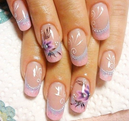 Top 10 Winter Manicure Nail Art Designs Absolutely Adorable